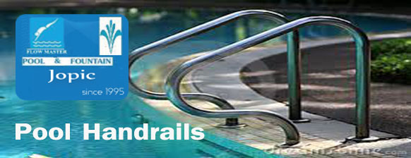 Pool Handrails dealer and supplier in Pakistan - JOPIC POOL