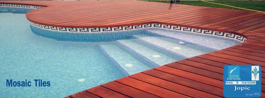 Mosaic Tiles for Swimming Pool in Pakistan