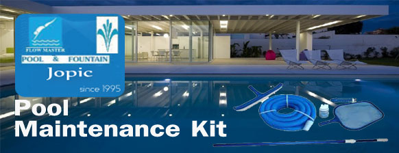 Swimming Pool Maintenance Kit Supplier in Pakistan - JOPIC POOL