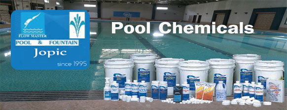 Pool Chemicals Supplier in Pakistan - JOPIC POOL