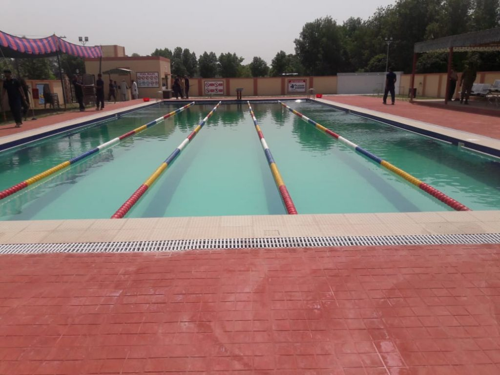 Commercial swimming pool, Al Buraq -  Okara Cantt. Pakistan