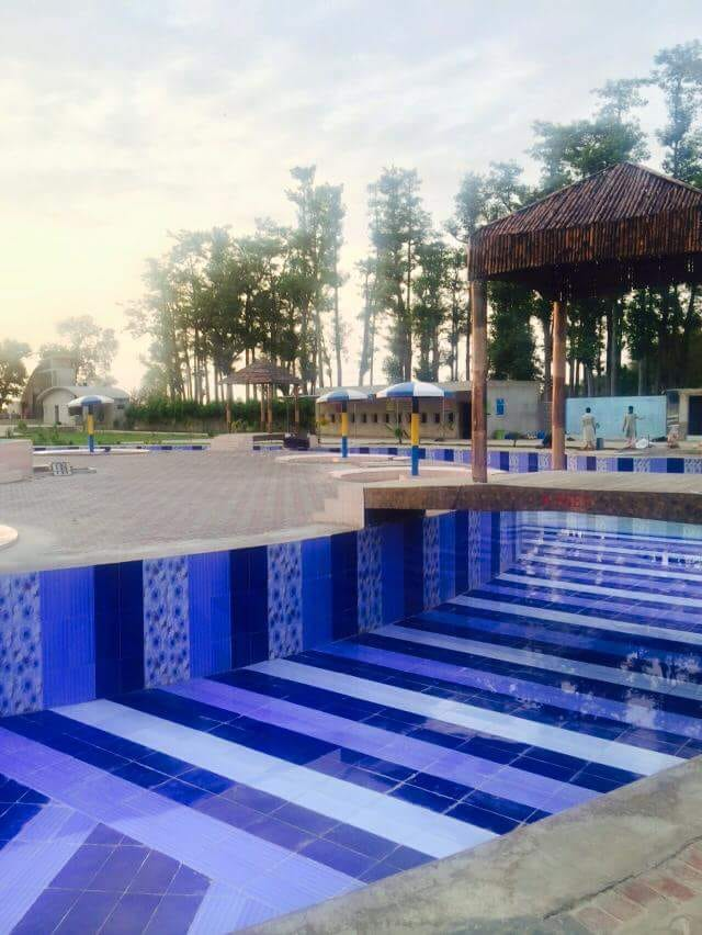 Lazy River at Shazaib Water Park, Sahiwal, Pakistan